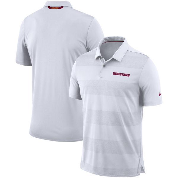 お取り寄せ NFL レッドスキンズ サイドライン ポロシャツ ナイキ/Nike ホワイト