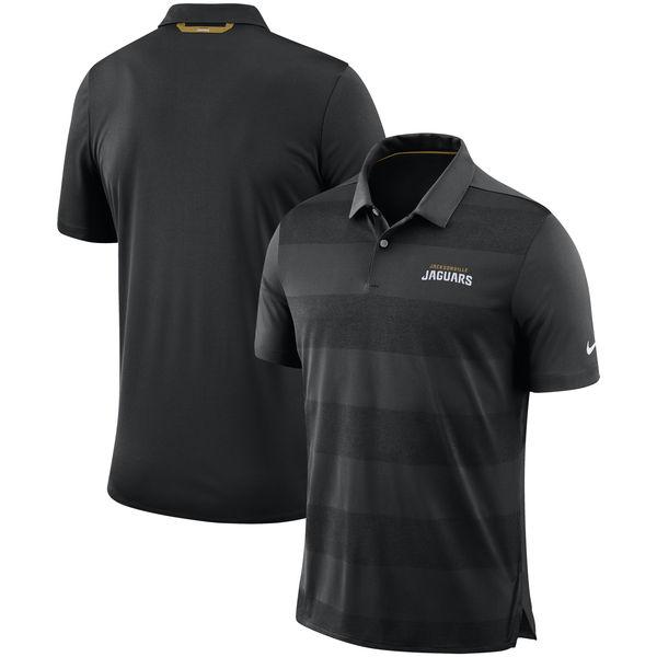 お取り寄せ NFL ジャガーズ サイドライン ポロシャツ ナイキ/Nike ブラック