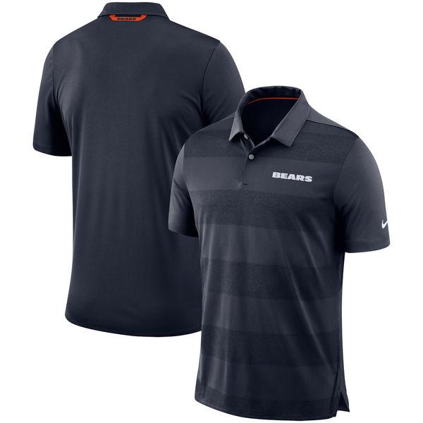 お取り寄せ NFL ベアーズ サイドライン ポロシャツ ナイキ/Nike ネイビー