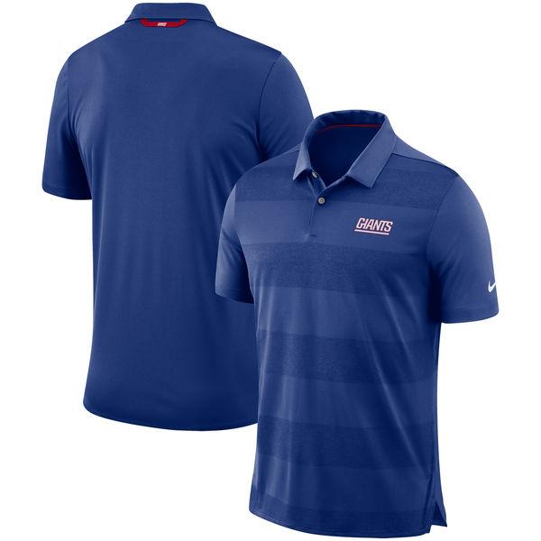 お取り寄せ NFL ジャイアンツ サイドライン ポロシャツ ナイキ/Nike ロイヤル