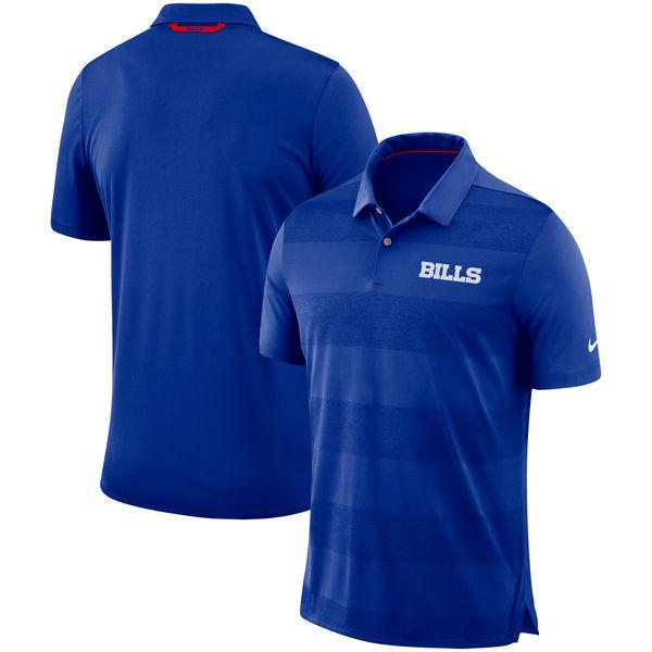 お取り寄せ NFL ビルズ サイドライン ポロシャツ ナイキ/Nike ロイヤル