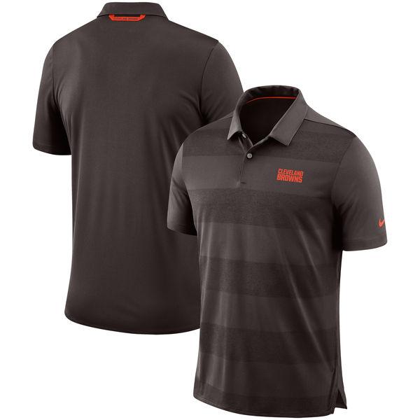 お取り寄せ NFL ブラウンズ サイドライン ポロシャツ ナイキ/Nike ブラウン