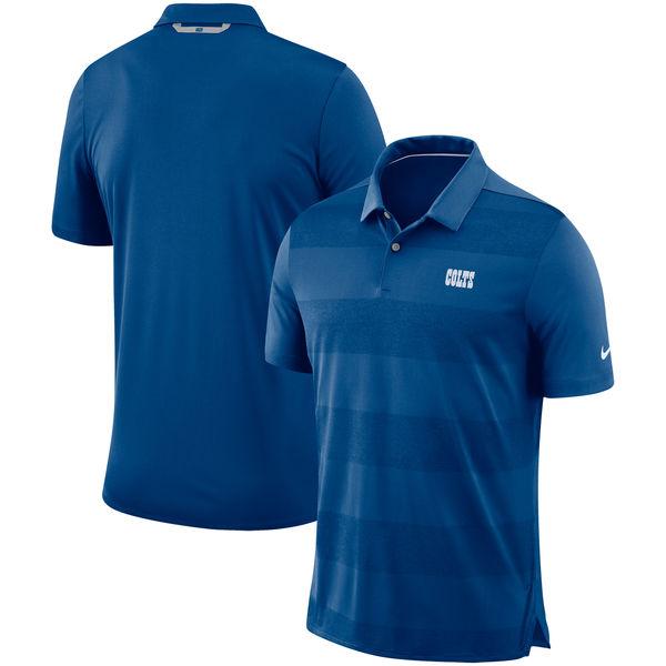 お取り寄せ NFL コルツ サイドライン ポロシャツ ナイキ/Nike ロイヤル