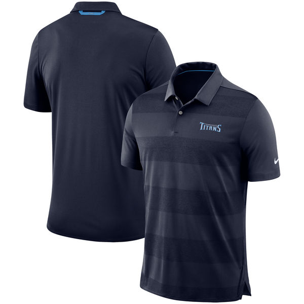 お取り寄せ NFL タイタンズ サイドライン ポロシャツ ナイキ/Nike ネイビー