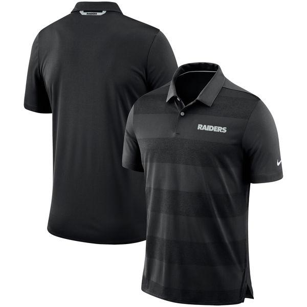 NFL レイダース サイドライン ポロシャツ ナイキ/Nike ブラック