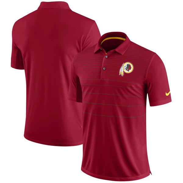 NFL レッドスキンズ サイドライン パフォーマンス ポロシャツ ナイキ/Nike バーガンディ