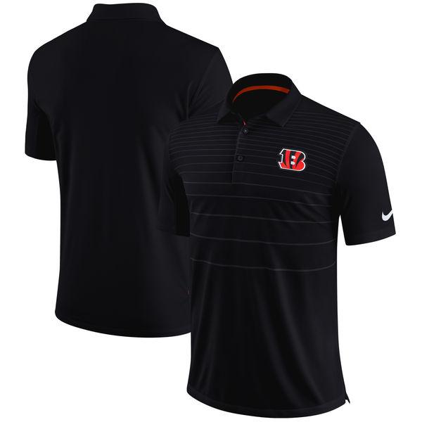 お取り寄せ NFL ベンガルズ サイドライン パフォーマンス ポロシャツ ナイキ/Nike ブラック