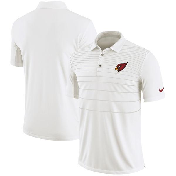 お取り寄せ NFL カーディナルス サイドライン パフォーマンス ポロシャツ ナイキ/Nike ホワイト