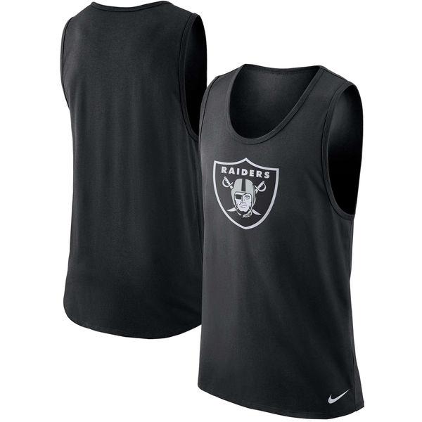 NFL レイダース パフォーマンス タンクトップ ナイキ/Nike ブラック