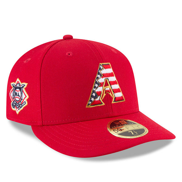 お取り寄せ MLB マーリンズ 39THIRTY フレックス キャップ/帽子 2018 スターズ & ストライプス ニューエラ/New Era レッド