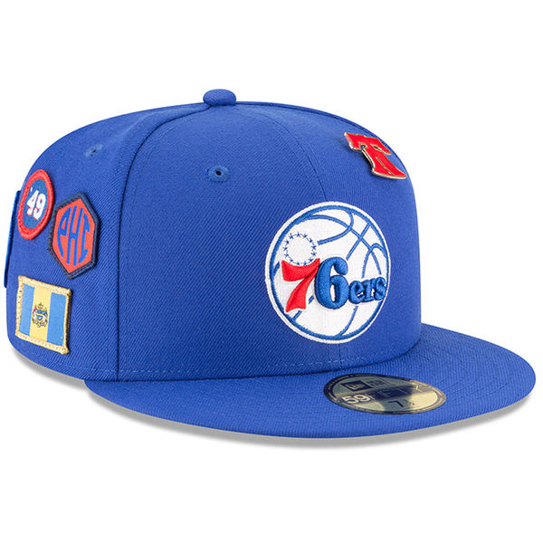 お取り寄せ NBA 76ers 59FIFTY フィッテッド キャップ/帽子 2018 ドラフト ニューエラ/New Era ロイヤル