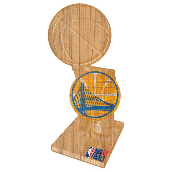 お取り寄せ NBA ウォリアーズ 2018 ファイナル優勝記念 トロフィー プレート