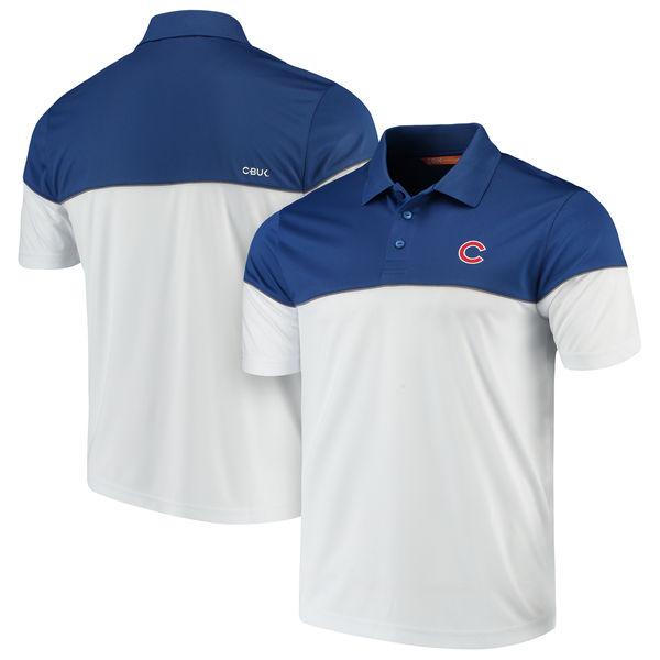 お取り寄せ MLB カブス ハリントン ポロシャツ カッター&バック/Cutter & Buck