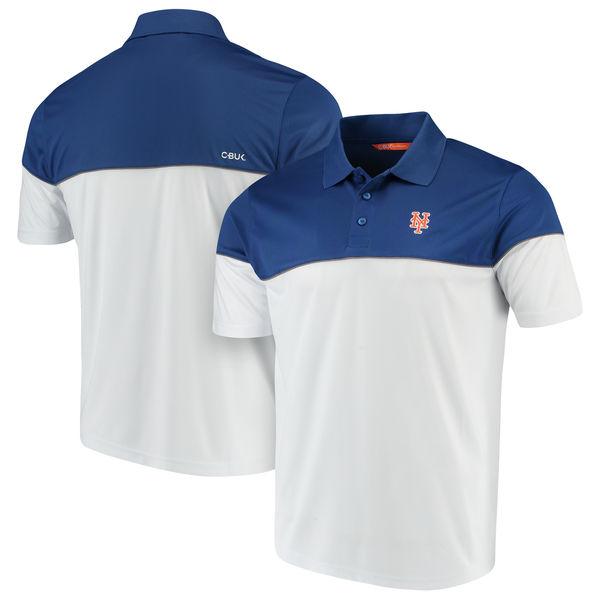 お取り寄せ MLB メッツ ハリントン ポロシャツ カッター&バック/Cutter & Buck