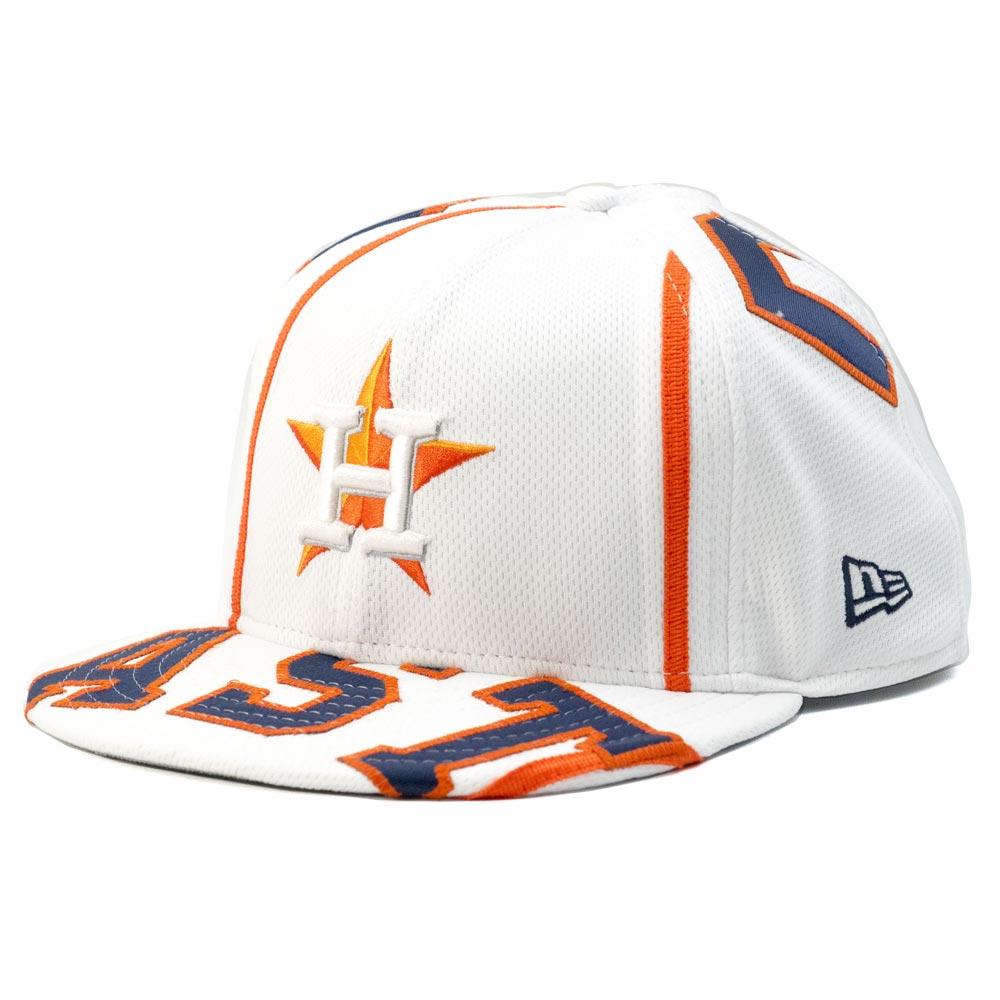 MLB アストロズ ホセ・アルテューベ プレミアム キャップ/帽子 オーセンティックジャージ使用 ニューエラ/New Era