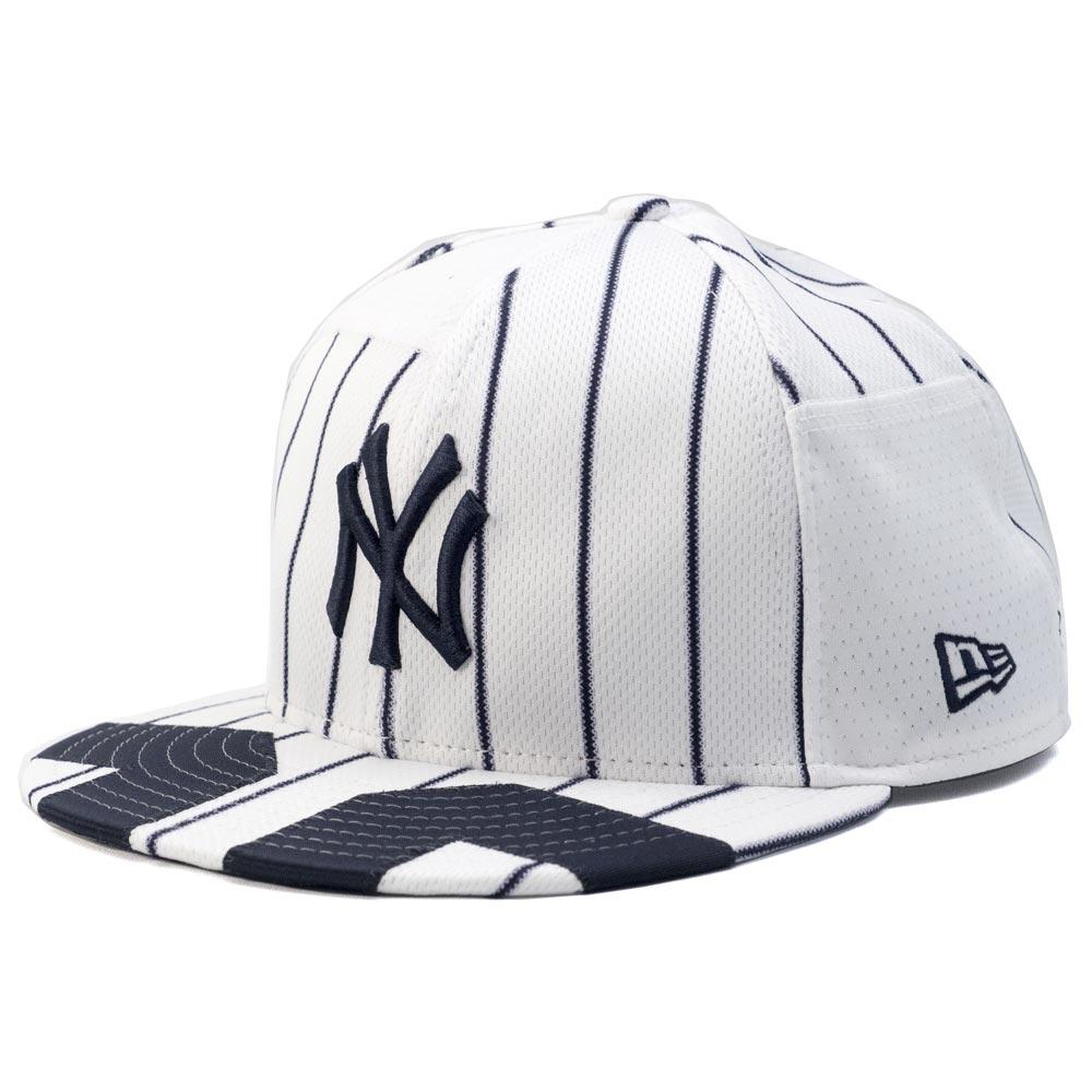 お取り寄せ MLB ヤンキース バケット ハット/帽子 2018 スターズ & ストライプス ニューエラ/New Era ネイビー