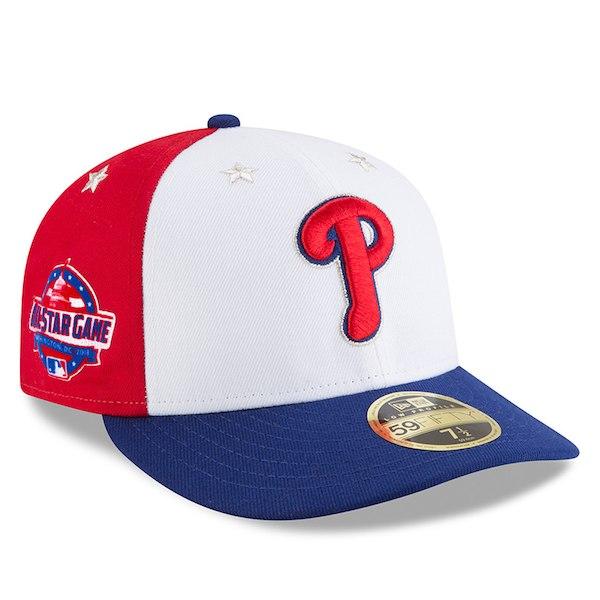 お取り寄せ MLB フィリーズ 選手着用 59FIFTY キャップ ロープロファイル 2018 オールスターゲーム ニューエラ/New Era