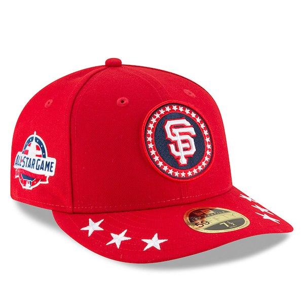 お取り寄せ MLB ジャイアンツ 選手着用 59FIFTY キャップ ロープロファイル 2018 オールスターゲーム ワークアウト ニューエラ