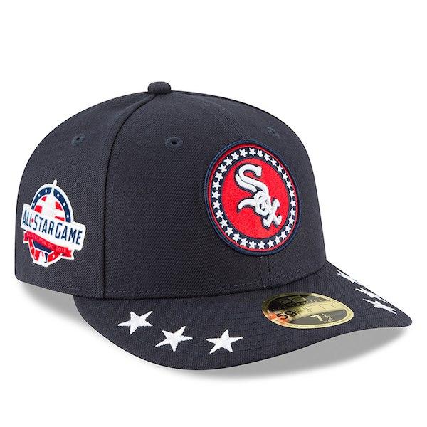 お取り寄せ MLB ホワイトソックス 選手着用 59FIFTY キャップ ロープロファイル 2018 オールスターゲーム ワークアウト ニューエラ