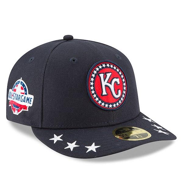 お取り寄せ MLB ロイヤルズ 選手着用 59FIFTY キャップ ロープロファイル 2018 オールスターゲーム ワークアウト ニューエラ