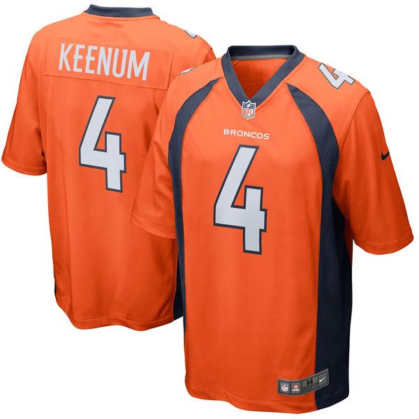 NFL ブロンコス ケース・キーナム ゲーム ユニフォーム/ユニホーム ナイキ/Nike オレンジ
