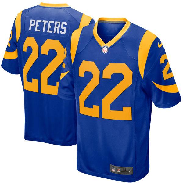 お取り寄せ NFL ラムズ マルクス・ピーターズ ゲーム ユニフォーム/ユニホーム ナイキ/Nike ロイヤル