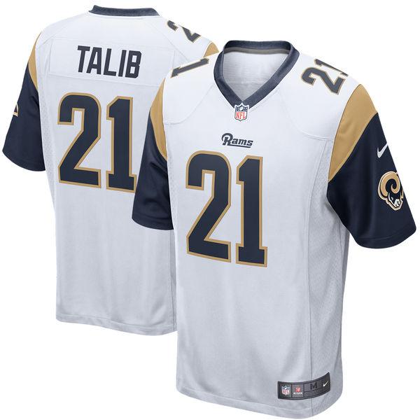 お取り寄せ NFL ラムズ アキブ・タリブ ゲーム ユニフォーム/ユニホーム ナイキ/Nike ホワイト