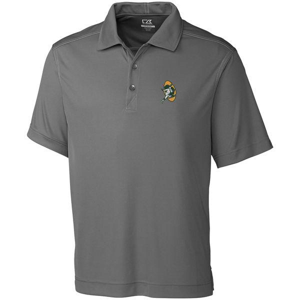 お取り寄せ NFL パッカーズ ビンテージ ドライテック ポロシャツ カッター&バック/Cutter & Buck グレー