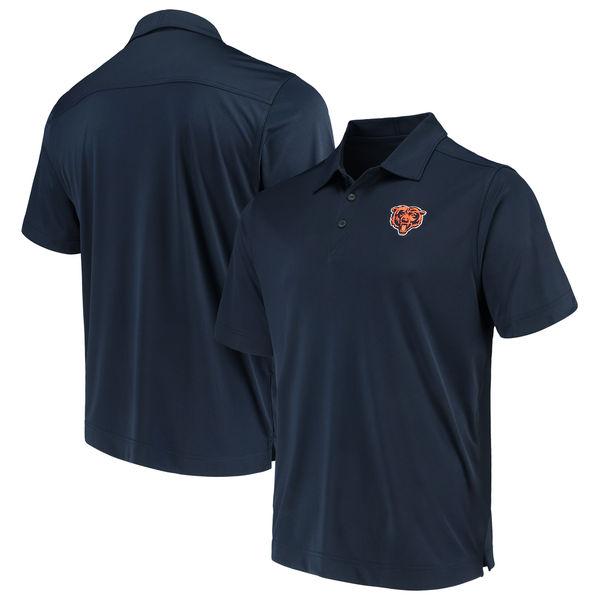 お取り寄せ NFL ベアーズ ビンテージ ドライテック ポロシャツ カッター&バック/Cutter & Buck ネイビー