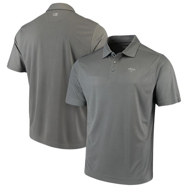 お取り寄せ NFL パンサーズ ビンテージ ドライテック ポロシャツ カッター&バック/Cutter & Buck グレー