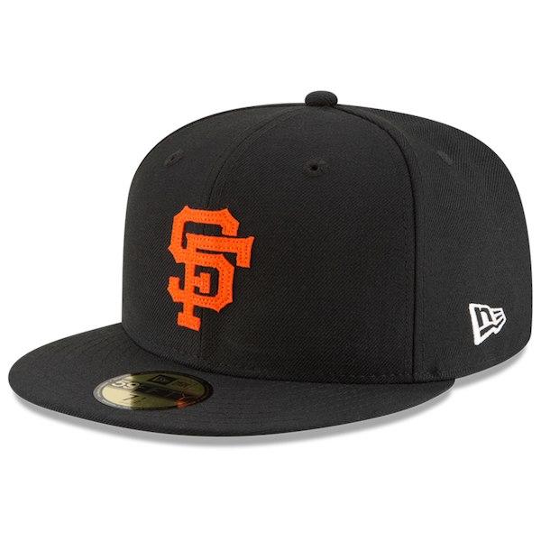 お取り寄せ MLB ジャイアンツ キャップ/帽子 オールドロゴ レトロ ニューエラ/New Era