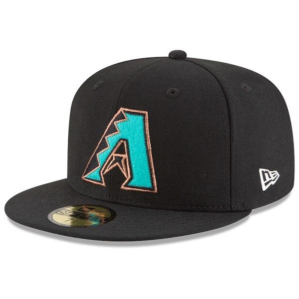 お取り寄せ MLB ダイヤモンドバックス キャップ/帽子 オールドロゴ レトロ ニューエラ/New Era