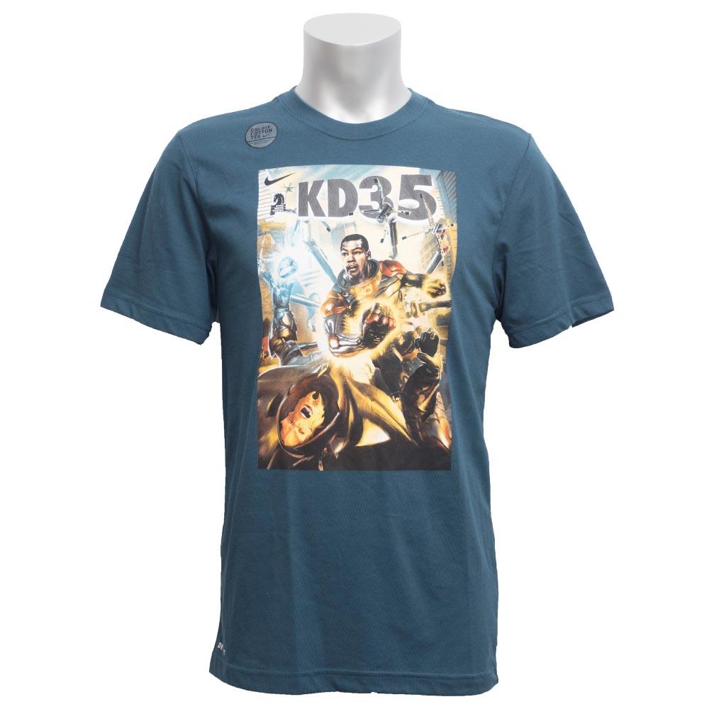 5979bf257 Nike KD NIKE KD Kevin Durant T-shirt short sleeves hero elite green 611