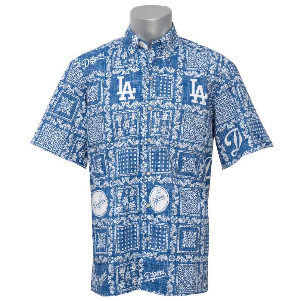 e47639cc MLB NBA NFL Goods Shop: MLB Dodgers Lahaina shirt / アロハシャツ ...