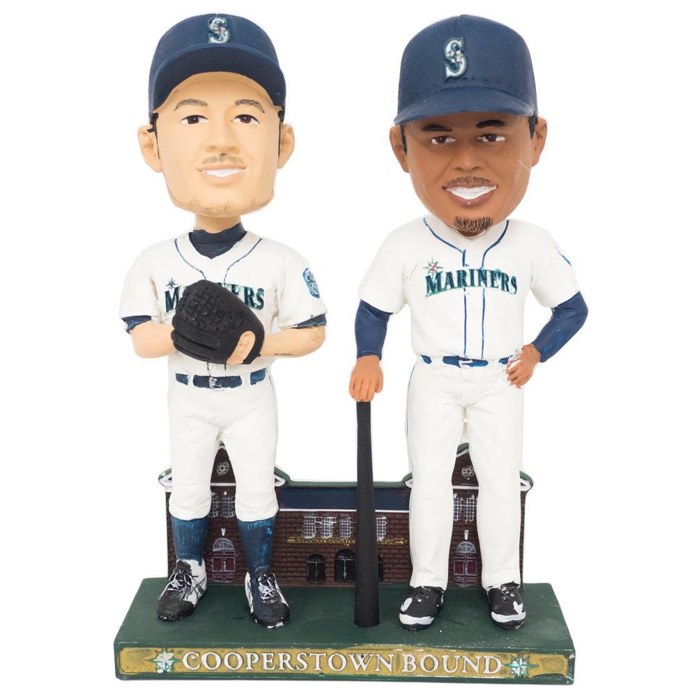 MLB マリナーズ イチロー/ケン・グリフィー・Jr. 球場配布 ボブルヘッド 人形/フィギュア 2010 レアアイテム