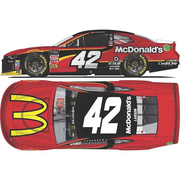 お取り寄せ NASCAR McDonald's カイル・ラーソン ミニカー 1/24 シボレー カマロ ZL1