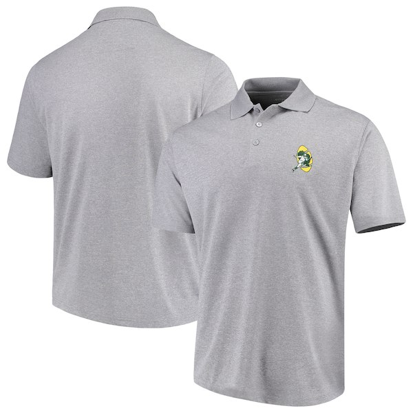お取り寄せ NFL パッカーズ ポロシャツ スローバック アンティグア/Antigua グレー