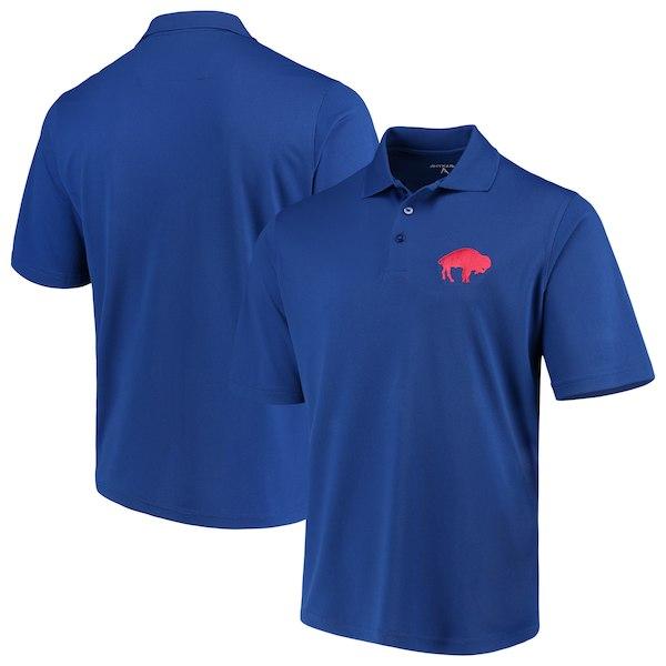 お取り寄せ NFL ビルズ ポロシャツ スローバック アンティグア/Antigua ロイヤル