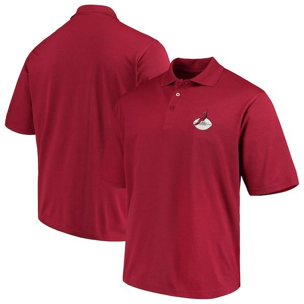 お取り寄せ NFL カーディナルス ポロシャツ スローバック アンティグア/Antigua カーディナル