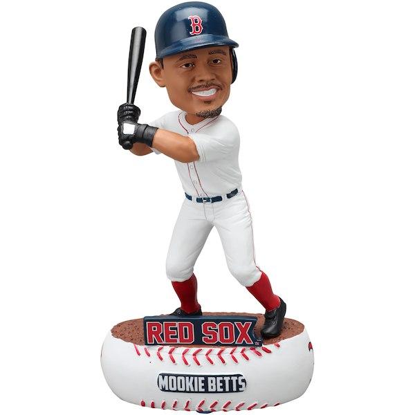 お取り寄せ MLB ボストン・レッドソックス ムーキー・ベッツ フィギュア ボブルヘッド