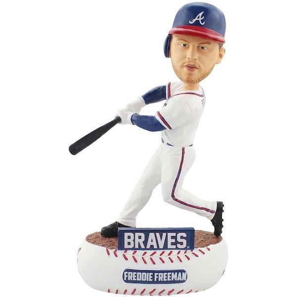 お取り寄せ MLB アトランタ・ブレーブス フレディ・フリーマン フィギュア ボブルヘッド