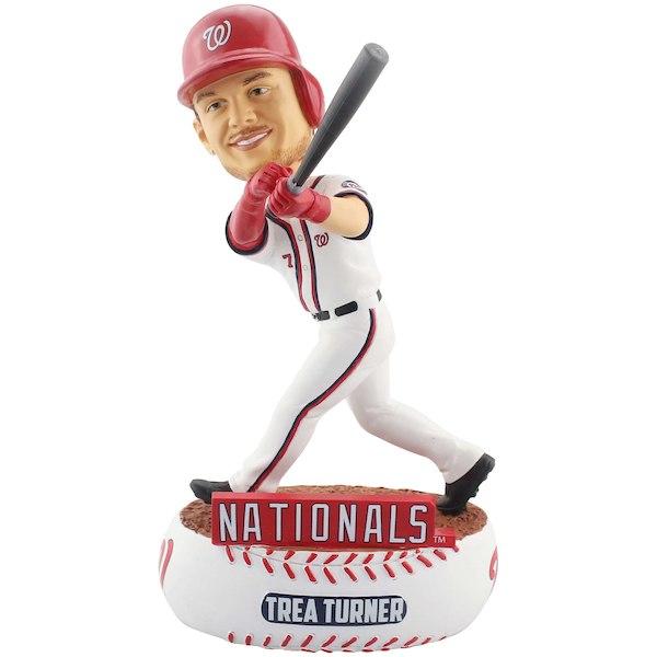 お取り寄せ MLB ワシントン・ナショナルズ トレイ・ターナー フィギュア ボブルヘッド