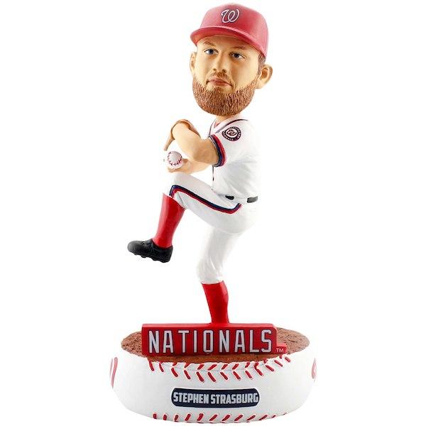 【正規品直輸入】 お取り寄せ MLB ワシントン・ナショナルズ スティーブン MLB お取り寄せ・ストラスバーグ フィギュア ボブルヘッド, 名東郡:a554ed1e --- palmnilsson.se