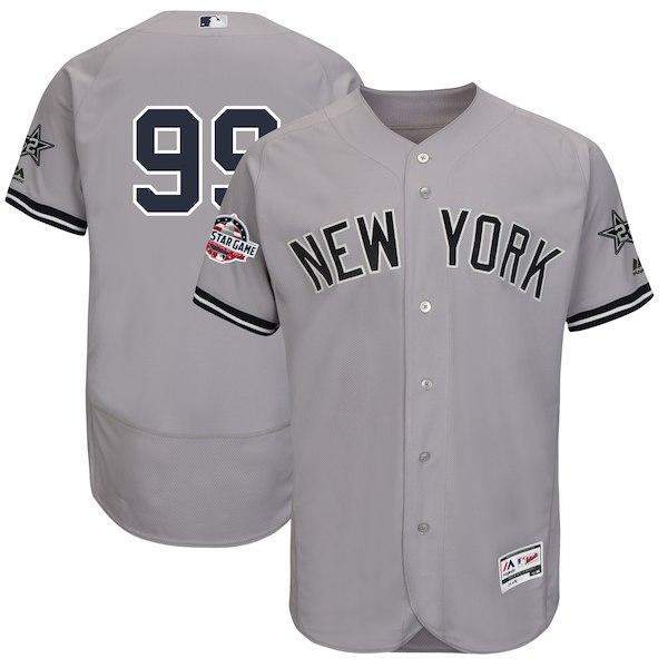 お取り寄せ MLB ヤンキース アーロン・ジャッジ 2018 オールスターゲーム 選手着用 ユニフォーム マジェスティック/Majestic