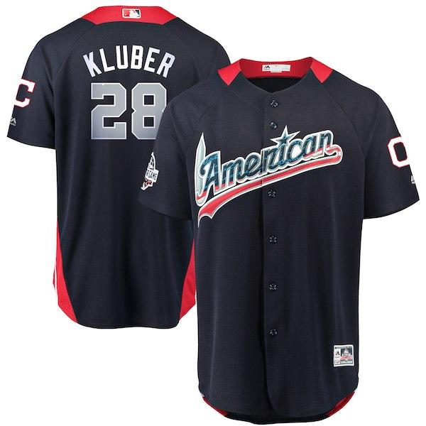 お取り寄せ MLB ア・リーグ コーリー・クルーバー 2018 オールスターゲーム ホームランダービー ユニフォーム マジェスティック