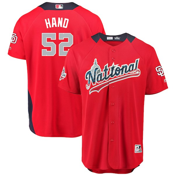 MLB ナ・リーグ ブラッド・ハンド 2018 オールスターゲーム ホームランダービー ユニフォーム マジェスティック