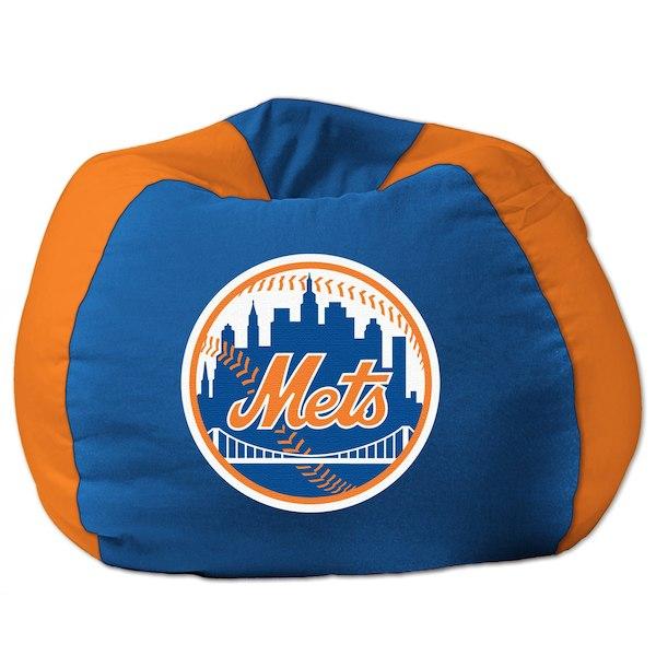 お取り寄せ MLB ニューヨーク・メッツ ビーズクッションソファ/体にフィットするソファ チェア