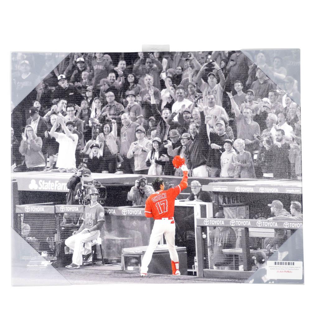 MLB ロサンゼルス・エンゼルス 大谷翔平 フォト キャンバス スタンディングオベーション Photo File