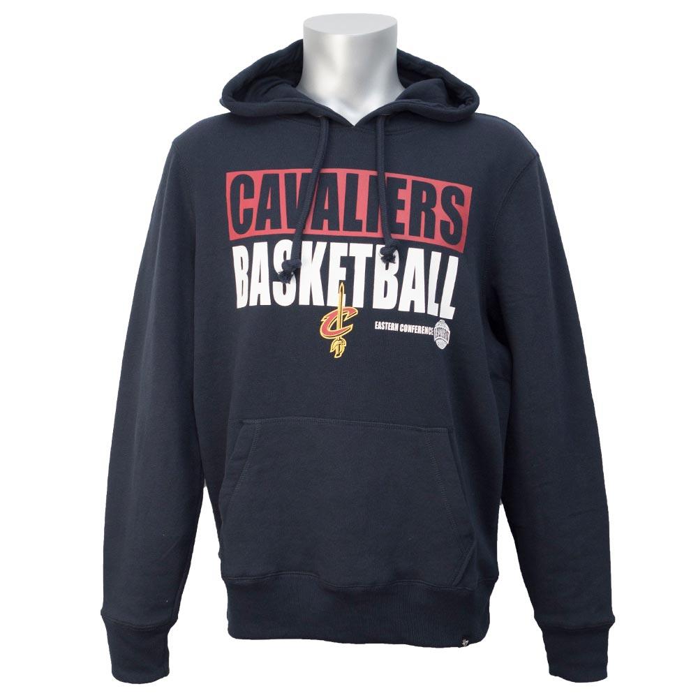 NBA キャバリアーズ パーカー/フーディー スクリプト ヘッドライン 47 Brand ネイビー