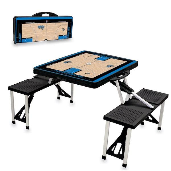 お取り寄せ NBA マジック レジャー/アウトドア 折りたたみ テーブル ブラック